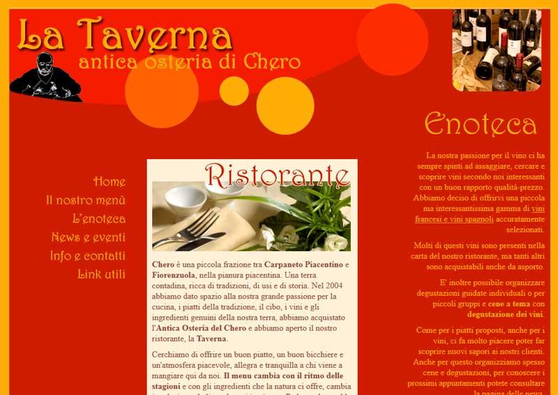 Pubblicato il sito Osteriadichero.it