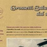Pubblicato il sito di Salumi Grossetti