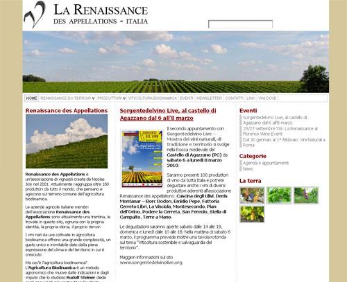 La Renaissance des Appellations: un sito (bio)dinamico!