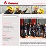 Pubblicato il sito di Fiamma srl, sicurezza e prevenzione antincendio