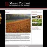 Home page del sito Marcocordani.it