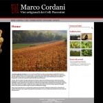 Marcocordani.it, un nuovo sito per un piccolo vignaiolo
