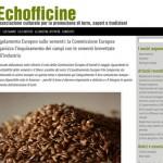 L'associazione Echofficine è online, un sito per informare