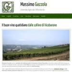 Pubblicato il sito della cantina Gazzola