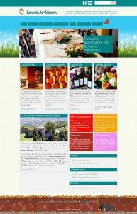 sito web agriturismo Locanda Fornace