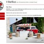Mini sito per una grande idea: il Bar Bus...