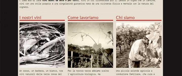 Cascina Zerbetta, sito responsive per la cantina del Monferrato