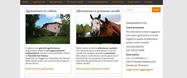 Allevamento del Ghiro, Cavalli e agriturismo
