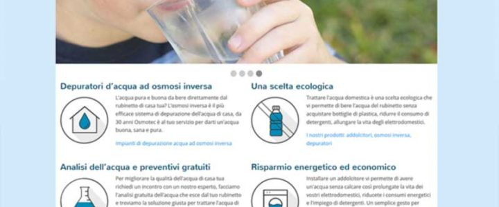 Responsive web design per Osmotec