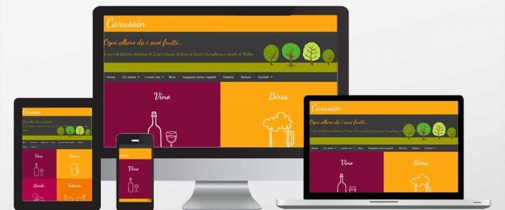Carussin, un sito versatile come l'azienda agricola