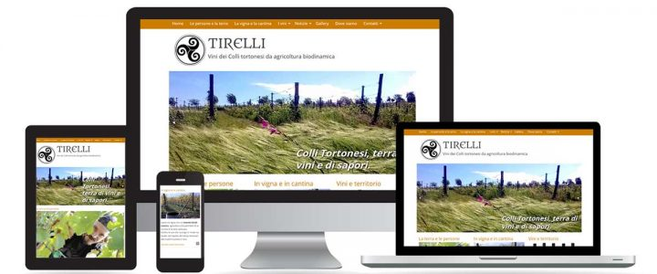 Tirellivini.it, un sito internet per raccontare vini e territorio