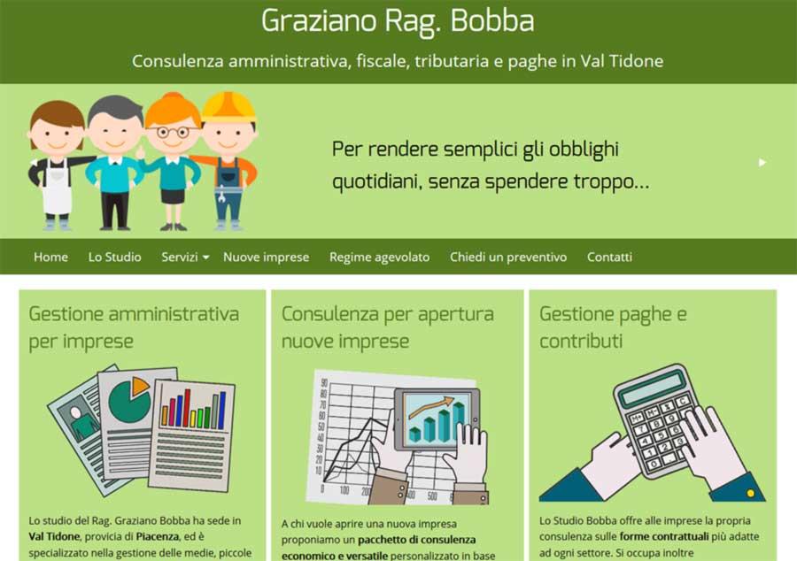 home page sito grazianobobba